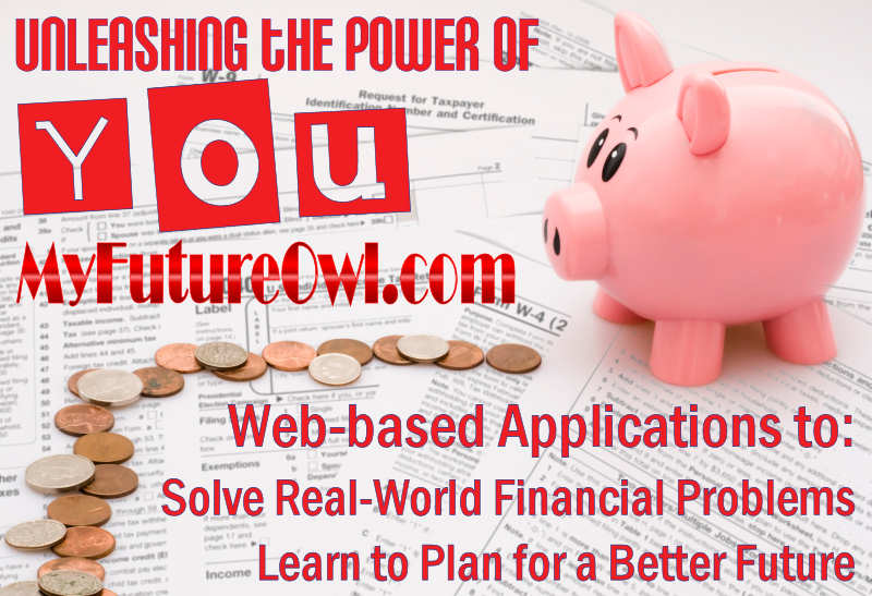 MyFutureOwl.com - Financial calculators for real-life problems